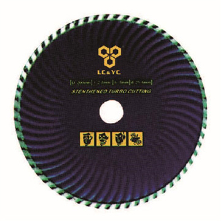 Turbo Diamond Saw Blade For Dry & Wet Cutting LC0703